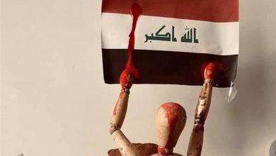 Photo of من باريس.. فنان عراقي يجسد شهداء التظاهرات ومعاناة العراقيين