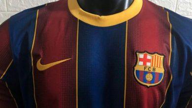 Photo of تسريب صور القميص الجديد لنادي برشلونة