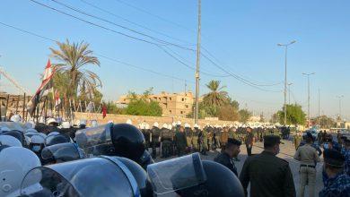 "Photo of ""الهدوء التام"" يسود ساحات التظاهر صباحاً في بغداد"