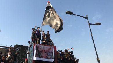 Photo of القوات الامنية تمنع محتجين من دخول بغداد مشياً على الاقدام