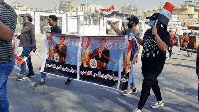 "Photo of بالصور.. عبارات الـ""x"" تشطب صور السياسيين في التحرير"