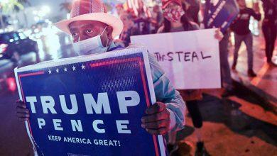 Photo of أنصار ترامب ينزلون إلى الشوارع ومخاوف من اشتباكات عنيفة