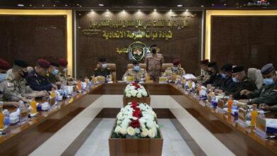 Photo of قائد عمليات بغداد يترأس المؤتمر ألامني الخاص بتأمين الحماية لزيارة الأمام موسى الكاظم (عليه السلام)