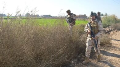 Photo of عمليات بغداد تعتقل عدد من المتهمين وفق مواد قانونية مختلفة بينهم إرهابيين وسُراق ومتعاطي مواد مخدرة في مختلف قواطع المسؤولية.