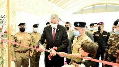 Photo of الغانمي يفتتح المقر الجديد لوكالة شؤون الشرطة