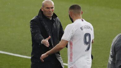 Photo of أول تعليق لزيدان بعد إطاحة فريقه ريال مدريد بليفربول من دوري الأبطال