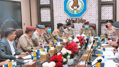 Photo of اجتماع امني موسع بين العمليات المشتركة وقيادات وزارة الداخلية