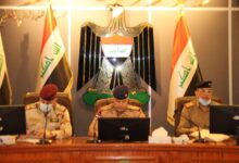 Photo of قائد عَمَلِيَّات بَغْدَاد يترأس مؤتمراً أمنياً في مقر القيادة