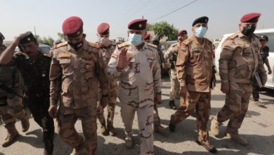 Photo of وفد عسكري رفيع من بغداد يصل إلى يثرب بعد الهجوم الدامي