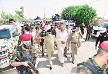 Photo of وكيل وزارة الداخلية لشؤون الشرطة يصل الى محافظة صلاح الدين